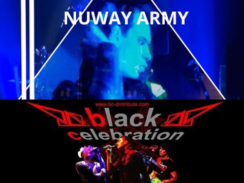 Graphic image Nuway Army and Black Celebration Event