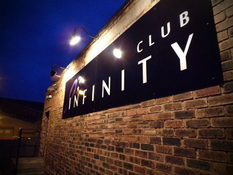 PIcture outside the Infinity nightclub in Leek, Staffordshire