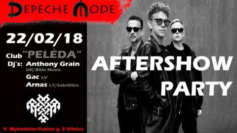 Picture of Depeche Mode Lithuania 2018 Aftershow Party artwork