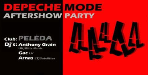 Picture of Depeche Mode Aftershow Party Lithuania 2018 artwork